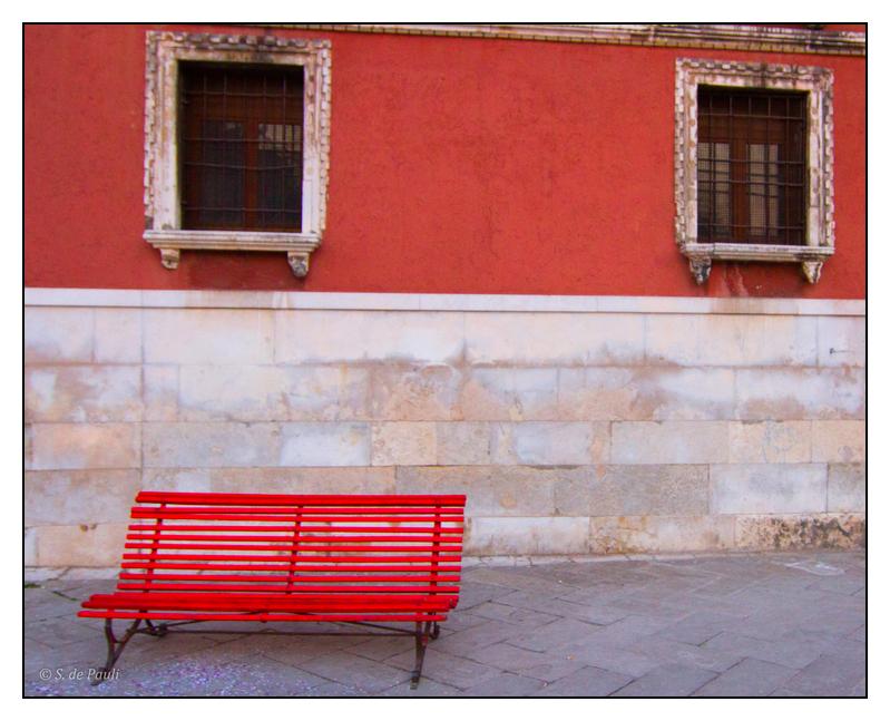 Banc rouge