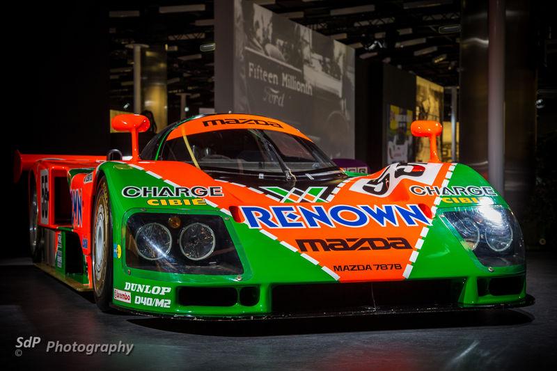 Exposition 24H du Mans : Mazda
